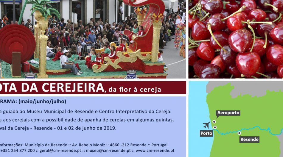 (Português) Rota da Cerejeira, da flor à cereja
