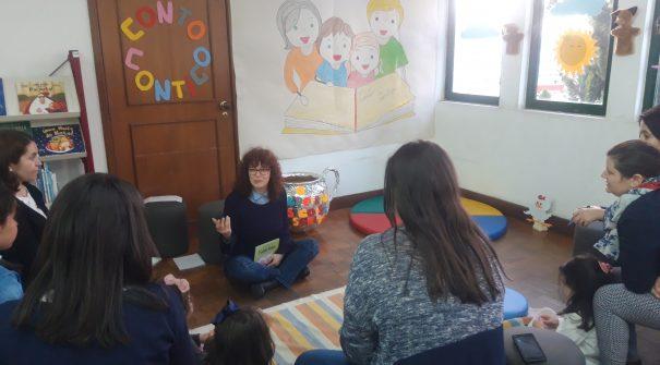 """""""Conto Contigo"""" na Biblioteca Municipal de Resende"""