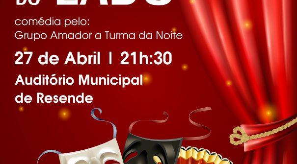 """Teatro """"A Família do Lado"""""""
