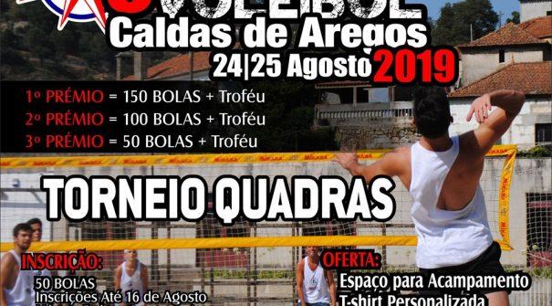 Torneio de Voleibol em Caldas de Aregos