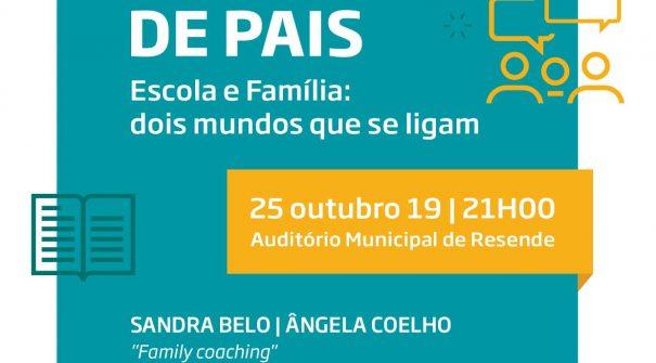 """Conferência """"Escola e Família: dois mundos que se ligam"""""""