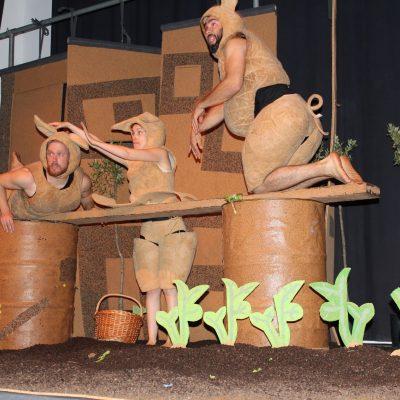 """Peça de Teatro """"Os Três Porquinhos"""" sensibiliza crianças para as alterações climáticas"""