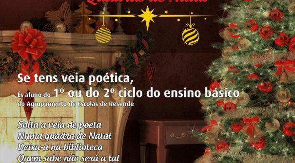 "Município promove concurso ""Quadras de Natal"""