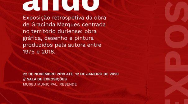 """Exposição """"Por onde ando"""" de Gracinda Marques"""
