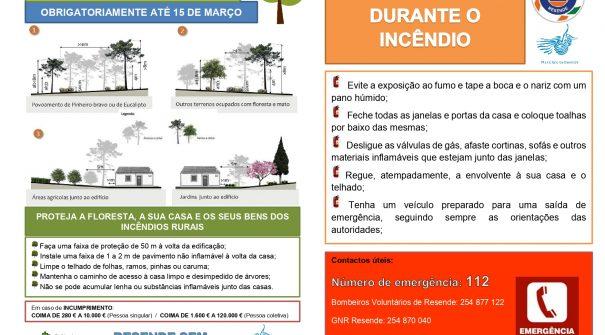 Limpeza de terrenos obrigatória até 15 de março