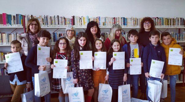 Município entregou certificados da Fase Escolar/Municipal do Concurso Nacional de Leitura