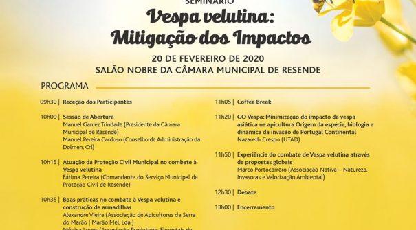 """Seminário """"Vespa velutina: mitigação dos impactos"""""""