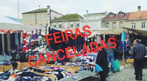 Município cancela feiras no concelho