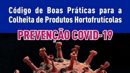 COVID-19 | Código de Boas Práticas para a realização da operação da colheita
