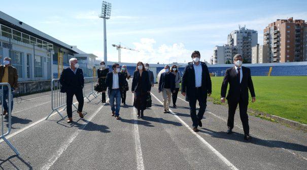 Presidente da Câmara visitou centro de rastreio da covid-19