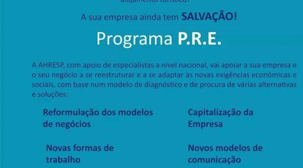 Programa PRE – Programa de Revitalização de Empresas