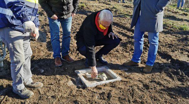 Lançamento da 1.ª Pedra do Centro de Recolha Oficial de Animais de Resende e Baião