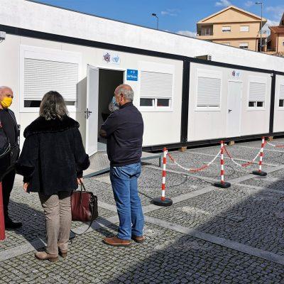 ACES Baixo Tâmega visita Centro de Vacinação