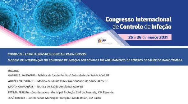 Município de Resende participou em Congresso Internacional de Controlo de Infeção