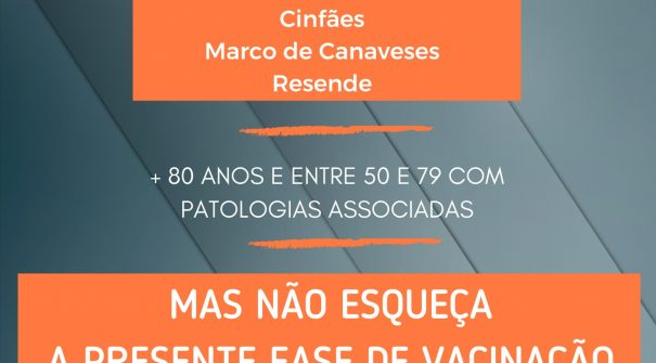322 munícipes vacinados contra a COVID-19 na primeira semana